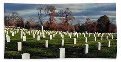 Arlington National Cemetery Landscape II Beach Towel