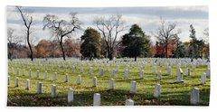 Arlington National Cemetery Landscape Beach Towel
