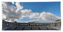 Arlington National Cemetery Memorial Amphitheater Panorama Beach Towel