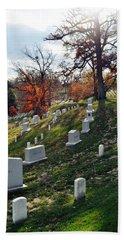 Arlington National Cemetery Portrait Beach Towel