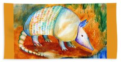 Armadillo Reflections Beach Towel
