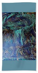 Beach Towel featuring the painting Armageddon 2016 1 by Richard W Linford
