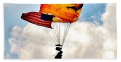 Army Paratrooper 2 Beach Towel