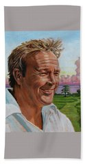 Arnold Palmer Beach Sheet by John Lautermilch
