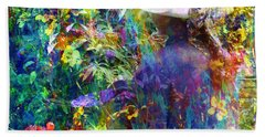 Aromatherapy Beach Towel by LemonArt Photography