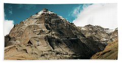 Around Holy Kailas Himalayas Tibet Yantra.lv Beach Towel