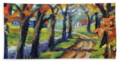 Around The Bend By Prankearts Beach Towel