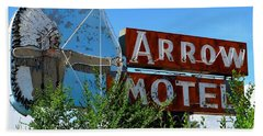 Arrow Motel Beach Towel