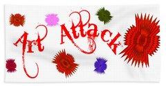 Art Attack  Beach Sheet
