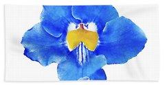 Art Blue Beauty Beach Towel
