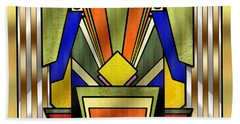 Art Deco 26 Beach Towel