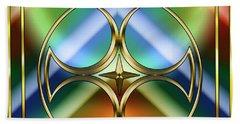 Art Deco 38 - Chuck Staley Beach Sheet by Chuck Staley