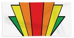 Art Deco Chevron - Chuck Staley Beach Sheet by Chuck Staley