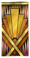 Art Deco 12v Beach Sheet