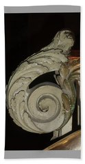 Beach Sheet featuring the photograph Art Deco Railing by Margie Avellino