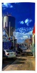 Art In The Alley Beach Towel