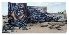 Art Or Graffiti Beach Towel