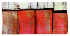Art Print Abstract 88 Beach Sheet