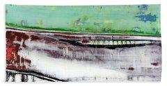 Art Print Abstract 97 Beach Towel