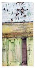 Beach Towel featuring the painting Art Print Abstract 52 by Harry Gruenert