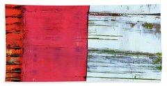 Art Print Abstract 75 Beach Sheet