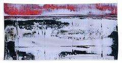 Art Print Abstract 99 Beach Sheet