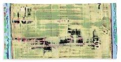 Art Print California 01 Beach Towel