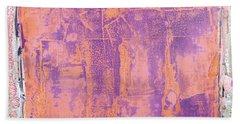 Art Print California 09 Beach Towel