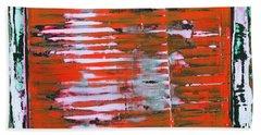 Art Print California 11 Beach Towel