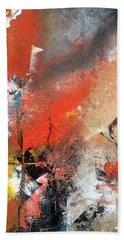 Beach Sheet featuring the painting Art Work by Sheila Mcdonald