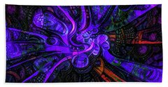 Artificial Fallopian Tubes Beach Towel by Steve Taylor