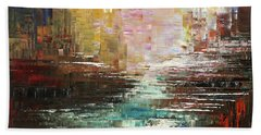 Artist Whitewater Beach Towel