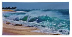 Artistic Wave Beach Towel