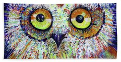 Artprize You That's Hoo Audience Participation Beach Towel
