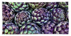Artsy Artichokes Beach Sheet