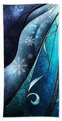 The Snow Queen Beach Towel