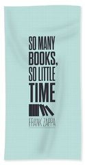 Frank Zappa Quote Typography Print Quotes Poster Beach Towel