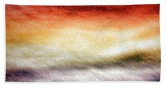 Palette In The Sky Beach Towel by Bill Kesler
