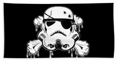 Pirate Trooper Beach Sheet