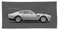 The Aston V8 Vantage Beach Towel