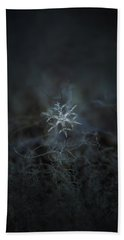 Snowflake Photo - Rigel Beach Towel by Alexey Kljatov