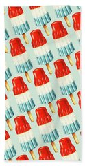 Bomb Pop Pattern Beach Towel by Kelly Gilleran