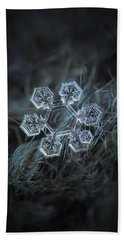 Beach Towel featuring the photograph Icy Jewel by Alexey Kljatov