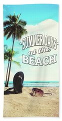 Summer Days Beach Towel