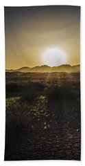 Chupadera National Recreation Trail Beach Towel by Bill Kesler