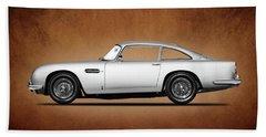 The Aston Martin Db5 Beach Towel