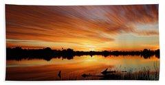 Sunrise Reflected Beach Sheet