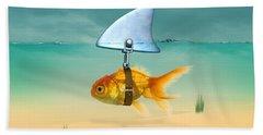 Gold Fish  Beach Towel