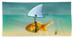 Gold Fish  Beach Towel