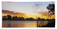 Sunrise Brady Beach Towel by Bill Kesler